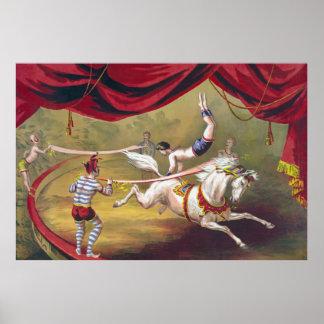 Vintage Circus Art Poster