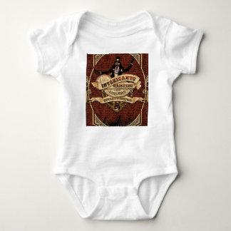 Vintage circus baby bodysuit