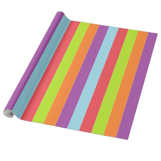 Vintage Circus Color Wrapping Paper