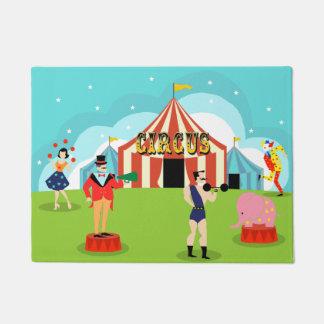 Vintage Circus Door Mat