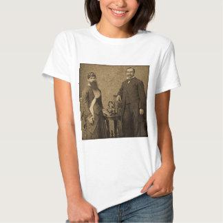 Vintage Circus Freak Bearded Lady Shirt