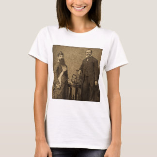 Vintage Circus Freak Bearded Lady T-Shirt