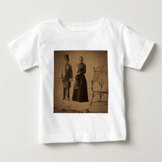 Vintage Circus Freaks Major Ray and His Wife T Shirt