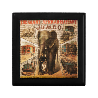 Vintage circus gift box