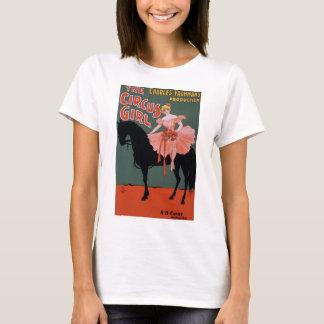 Vintage Circus Girl Poster T-Shirt
