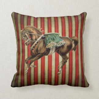 vintage circus horse cushions
