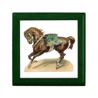 Vintage Circus Horse Gift Box