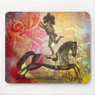 Vintage Circus Mouse Pad