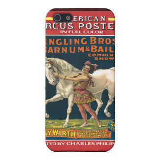 Vintage Circus Poster Speck Case iPhone4 Cover For iPhone 5/5S