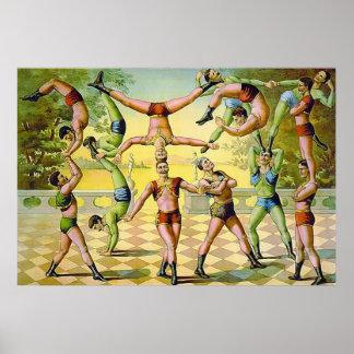 Vintage Circus Print.