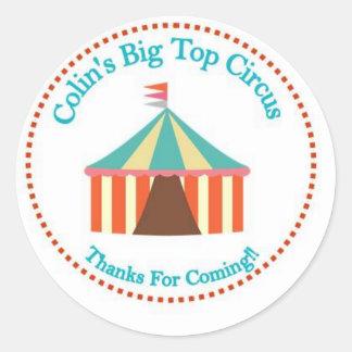 Vintage Circus Sticker