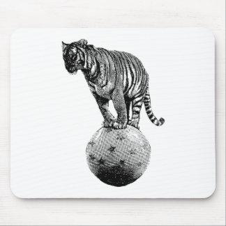 Vintage Circus Tiger Gifts Mousepad