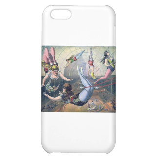 Vintage CIRCUS trapeze horses arena Cover For iPhone 5C