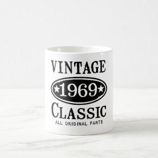 Vintage Classic 1969 gifts Coffee Mug