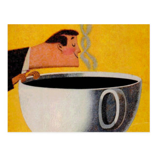 Vintage Coffee Advertisement Postcard