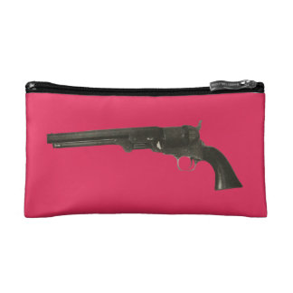 Vintage Colt Firearms 1860 Revolver Cosmetic Bag