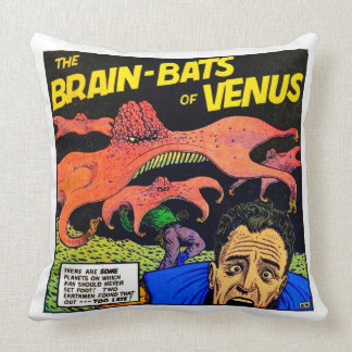 "Vintage Comic Book Polyester Throw Pillow 20"" x 20"