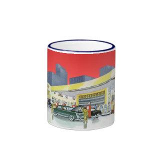 Vintage Complete Car Service Garage Auto Mechanics Coffee Mug