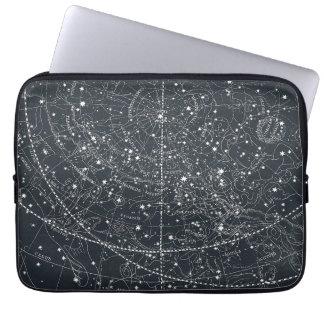 Vintage Constellation Map Computer Sleeve