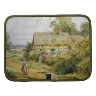 Vintage Country Cottage and Children Folio Organizers