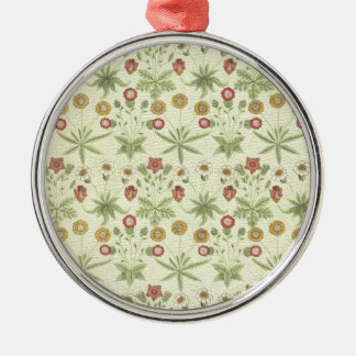 Vintage Country Floral Pattern Christmas Ornament