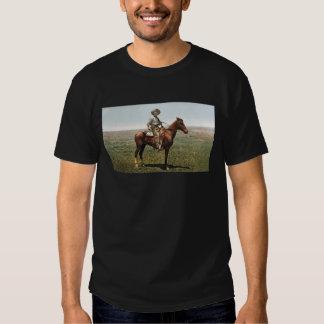 Vintage Cowboy on Horse American West T-shirt