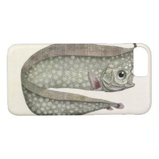 Vintage Crested Oarfish Fish, Marine Aquatic Life iPhone 8/7 Case
