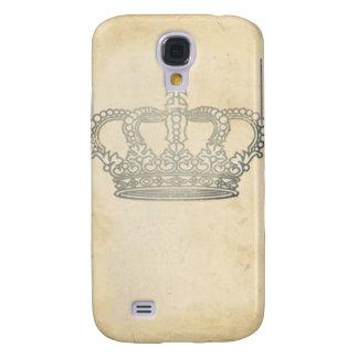 Vintage Crown Galaxy S4 Case