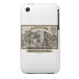 Vintage Cuban Bank of Cuba of Cuba iPhone 3 Cover
