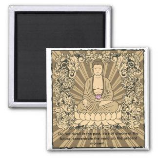 Vintage Custom Buddha Refrigerator Magnets