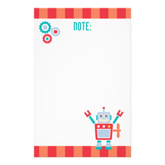 Vintage Cute Robot Toy For Kids Stationery