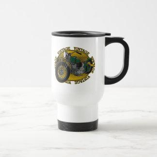 Vintage Cycle Rider Travel Mug For Motorists Coffee Mug