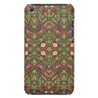Vintage Daisy Floral Barely There iPod Case