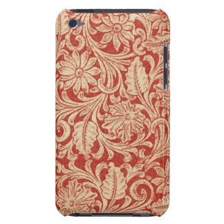 Vintage Damask Floral Red Case-Mate iPod Touch iPod Touch Case-Mate Case