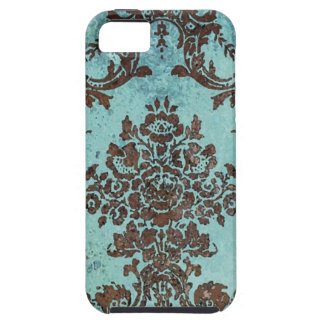 Vintage Damask Pattern iPhone 5 Covers