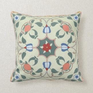 Vintage Decorative Floral Pattern Throw Pillows