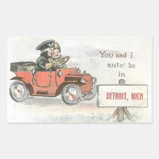 Vintage Detroit Sticker