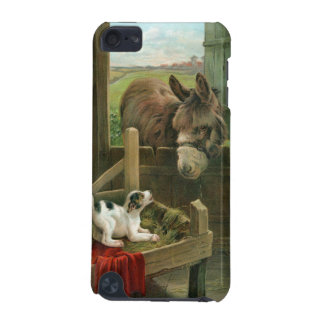 Vintage Donkey & Puppy Dog in Manger Old Barnyard iPod Touch 5G Covers