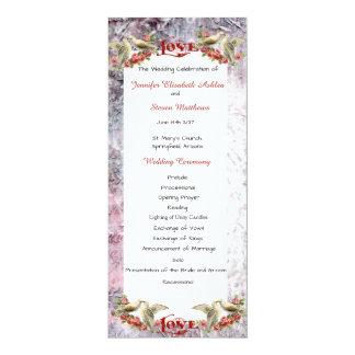 Vintage Dove Wedding Invitation