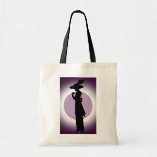 Vintage Dress and Hat Fashion Tote Bag
