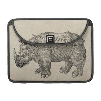Vintage Durer Rhino MacBook Pro Sleeve