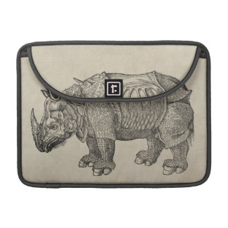 Vintage Durer Rhino Sleeve For MacBook Pro