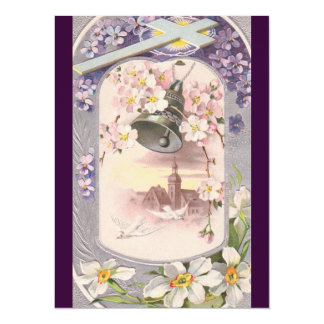 Vintage Easter Brunch 14 Cm X 19 Cm Invitation Card