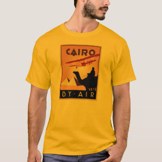 Vintage Egypt travel art deco T-Shirt