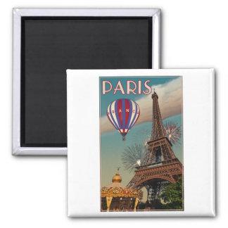 Vintage Eiffel Tower Refrigerator Magnets