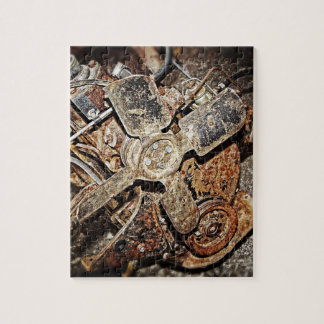 Vintage Engine Jigsaw Puzzle