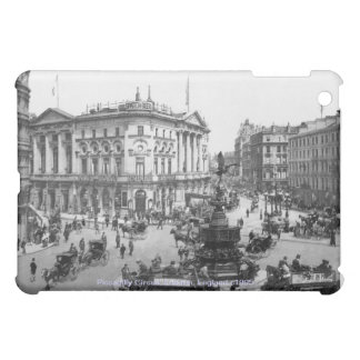 Vintage England, London Piccadilly Circus iPad Mini Cover