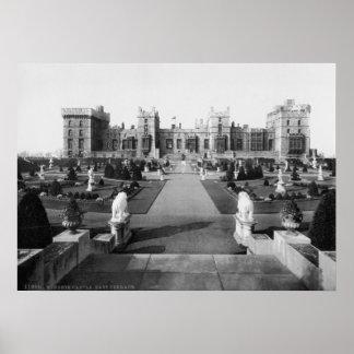 Vintage England, Windsor Castle, East Terrace Poster