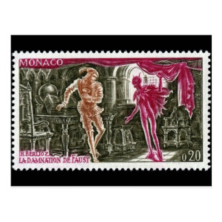 Vintage Engraved Stamp Postcard