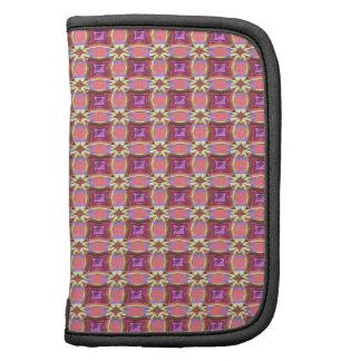 Vintage Fabric Pattern. Elegant Pink Purple & Gold Planner